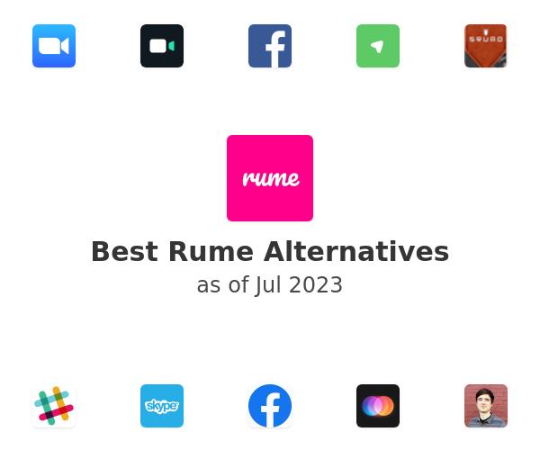 Best Rume Alternatives