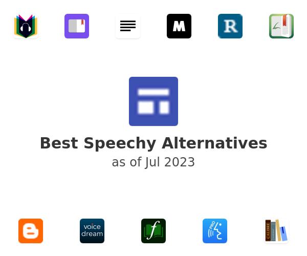 Best Speechy Alternatives