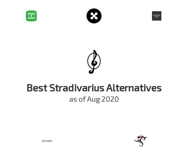 Best Stradivarius Alternatives