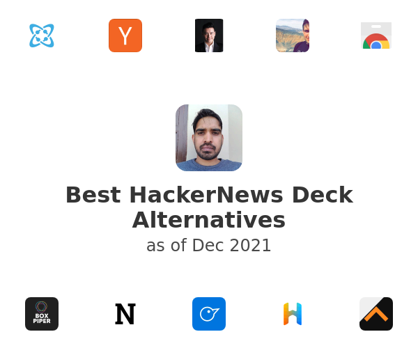 Best HackerNews Deck Alternatives