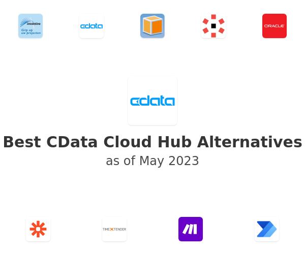 Best CData Cloud Hub Alternatives