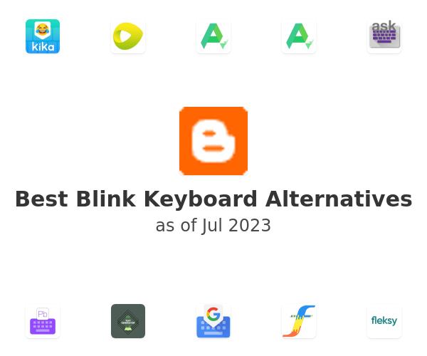 Best Blink Keyboard Alternatives