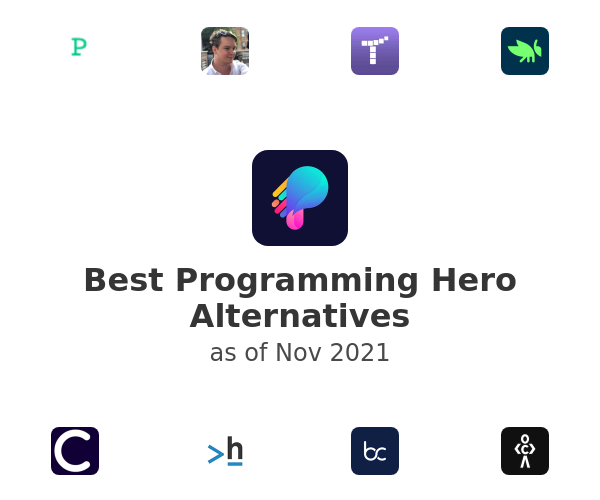 Best Programming Hero Alternatives