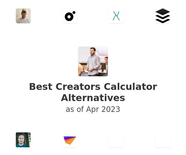 Best Creators Calculator Alternatives