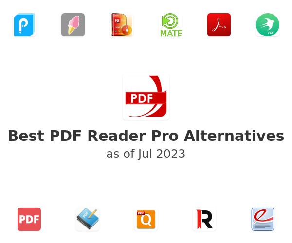 Best PDF Reader Pro Alternatives