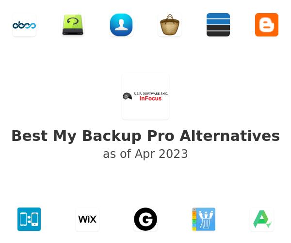 Best My Backup Pro Alternatives