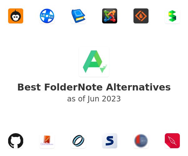 Best FolderNote Alternatives