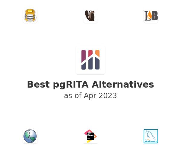 Best pgRITA Alternatives