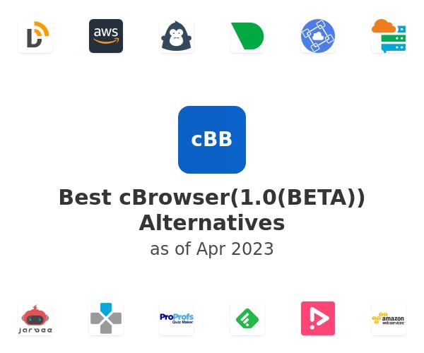 Best cBrowser(1.0(BETA)) Alternatives