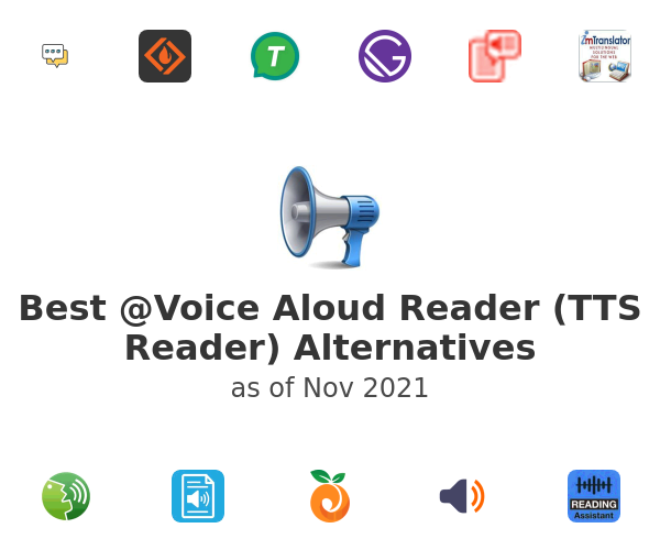 Best @Voice Aloud Reader (TTS Reader) Alternatives
