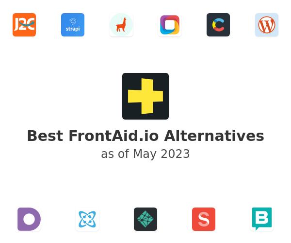 Best FrontAid.io Alternatives