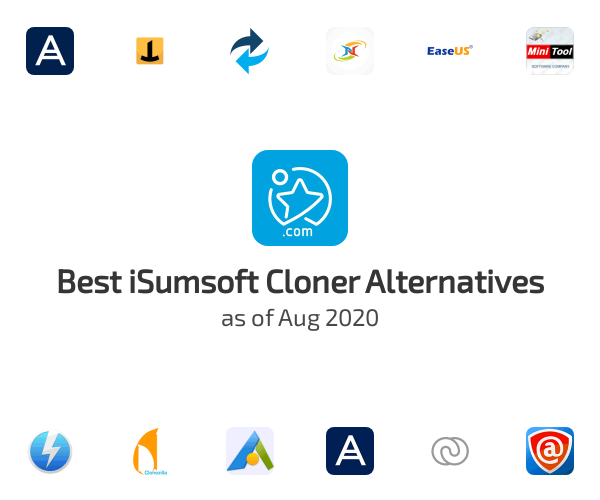 Best iSumsoft Cloner Alternatives