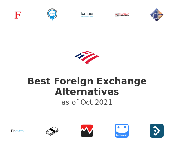 Best Foreign Exchange Alternatives