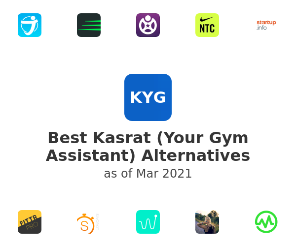 Best Kasrat (Your Gym Assistant) Alternatives