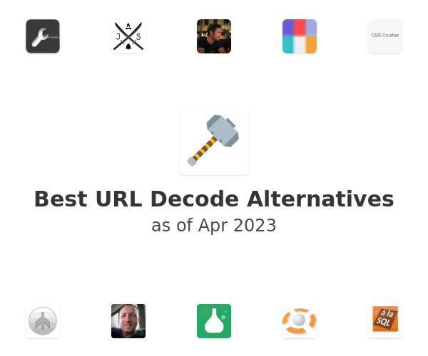 Best URL Decode Alternatives