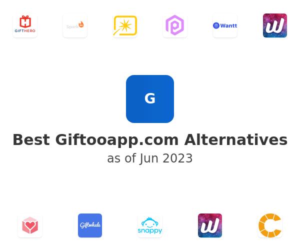 Best Giftooapp.com Alternatives
