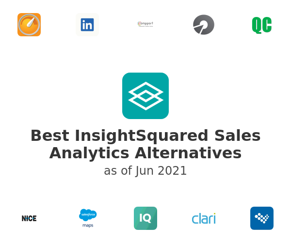 Best InsightSquared Sales Analytics Alternatives