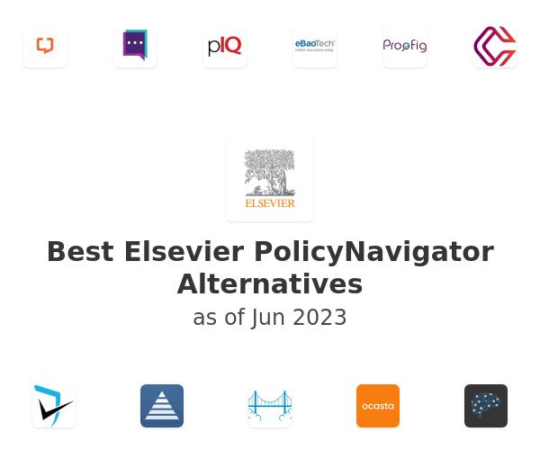Best Elsevier PolicyNavigator Alternatives