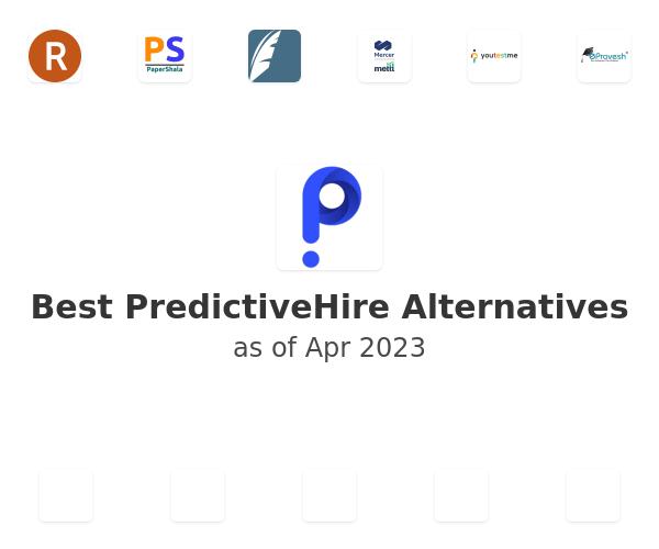 Best PredictiveHire Alternatives