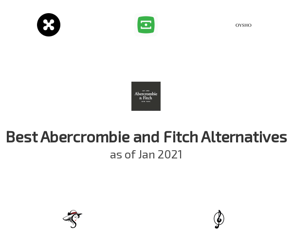 Best Abercrombie and Fitch Alternatives