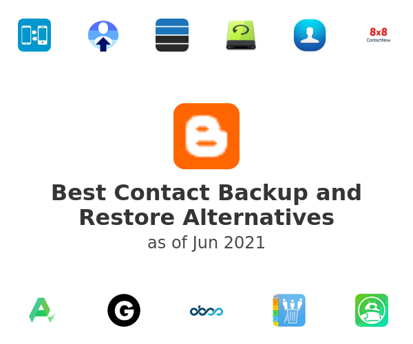 Best Contact Backup and Restore Alternatives