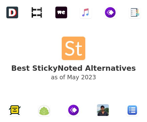 Best StickyNoted Alternatives