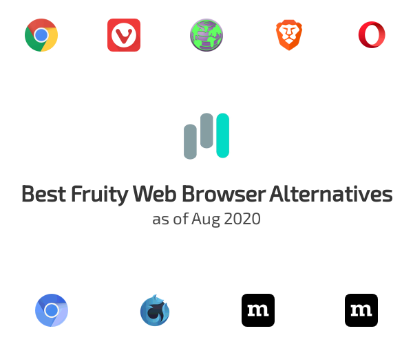 Best Fruity Web Browser Alternatives