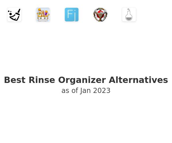 Best Rinse Organizer Alternatives