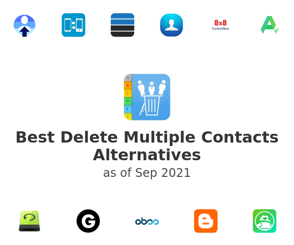 Best Delete Multiple Contacts Alternatives