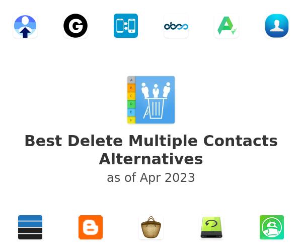 Best Delete Multiple Contacts Alternatives