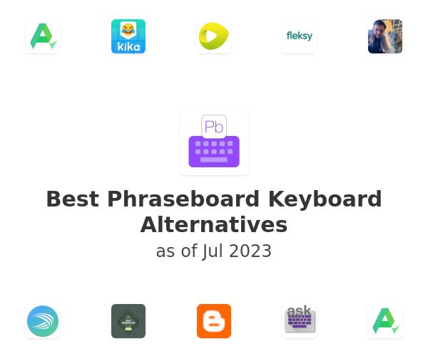 Best Phraseboard Keyboard Alternatives