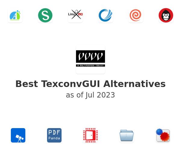 Best TexconvGUI Alternatives