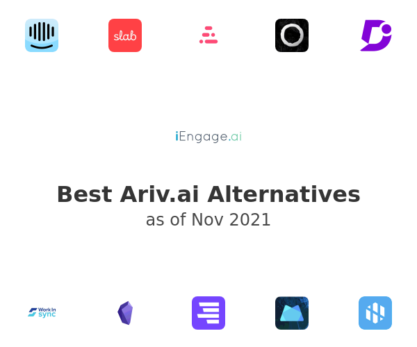 Best Ariv.ai Alternatives