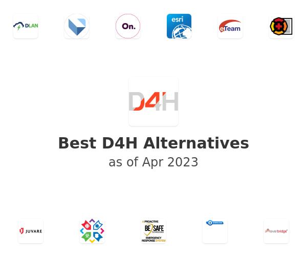 Best D4H Readiness & Response Alternatives