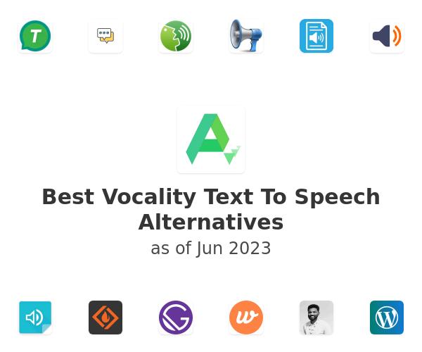 Best Vocality Text To Speech Alternatives