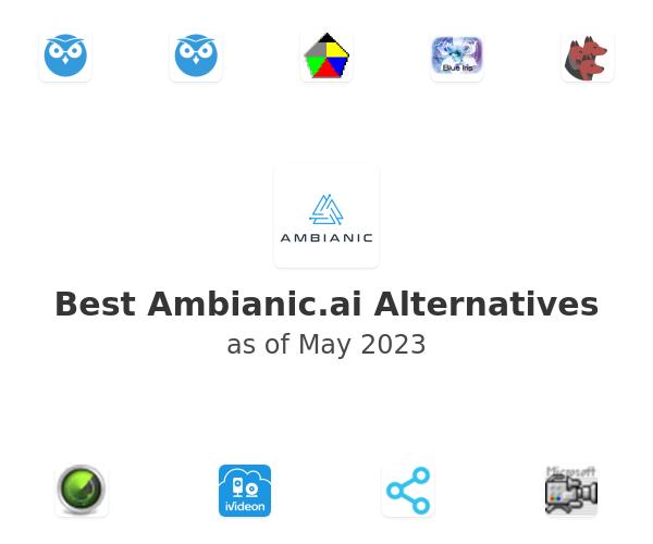 Best Ambianic.ai Alternatives