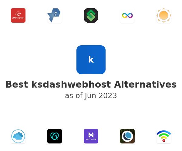 Best ksdashwebhost Alternatives