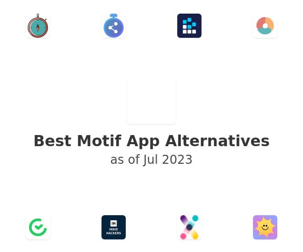 Best Motif App Alternatives