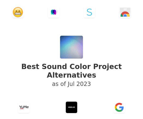 Best Sound Color Project Alternatives