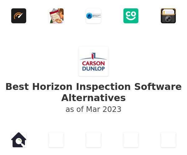 Best Horizon Inspection Software Alternatives