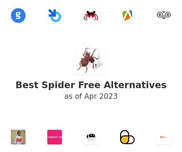 Best Spider Free Alternatives