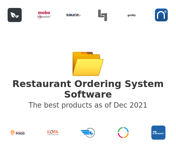 Restaurant Ordering System Software