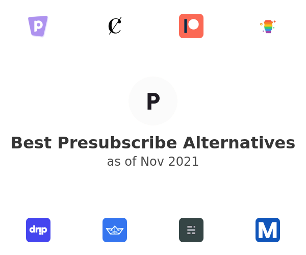Best Presubscribe Alternatives