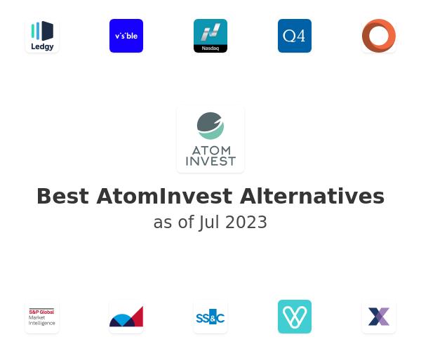 Best AtomInvest Alternatives