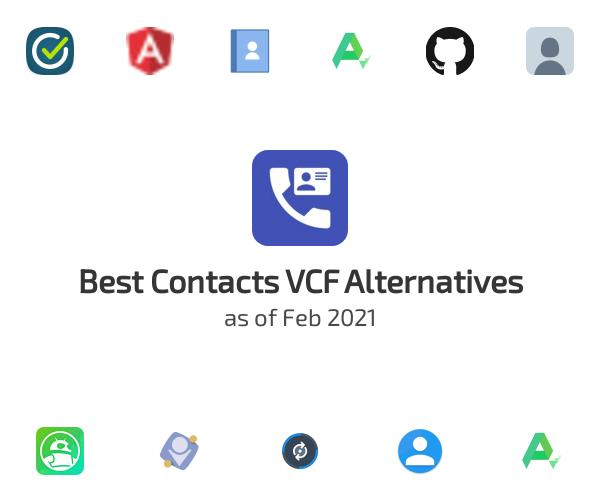 Best Contacts VCF Alternatives