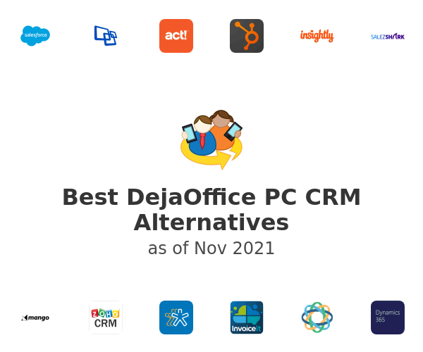 Best DejaOffice PC CRM Alternatives