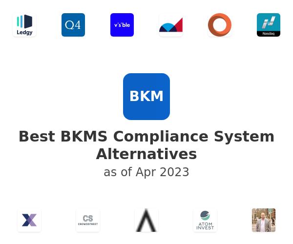 Best BKMS Compliance System Alternatives