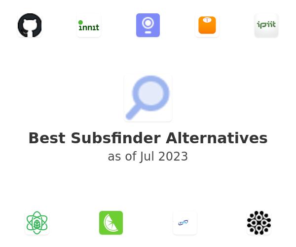 Best Subsfinder Alternatives