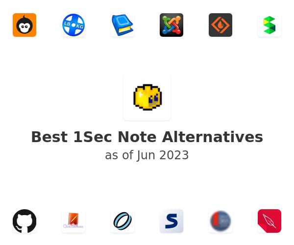 Best 1Sec Note Alternatives