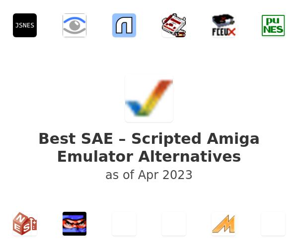 Best SAE – Scripted Amiga Emulator Alternatives